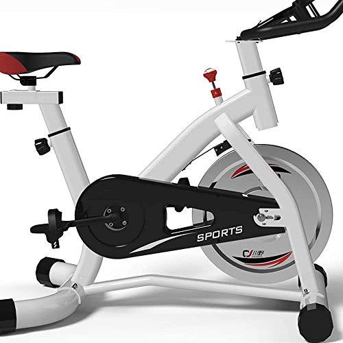 Verticale hometrainer, Indoor Study Fietsen, Aerobic Exercise Aerobic Voorwaarde Fietsen, Fitness Bike Trainer, Wit, Zwart HRSS