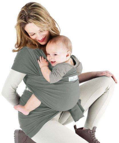 Je porte mon bébé - Fascia porta bebè Basic, colore: blu