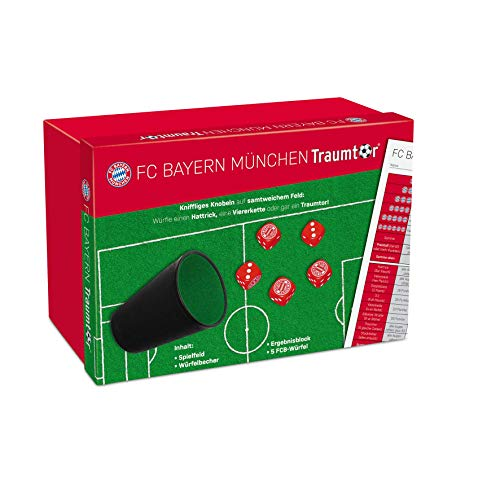 Teepe 22182480 FC Bayern München Traumtor-Würfelset