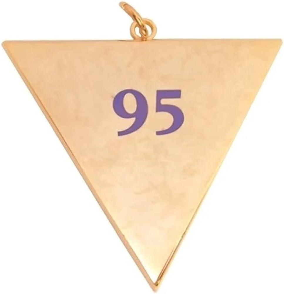 Masonic Rose Croix Collar Jewel Memphis Misraim - 95th degree