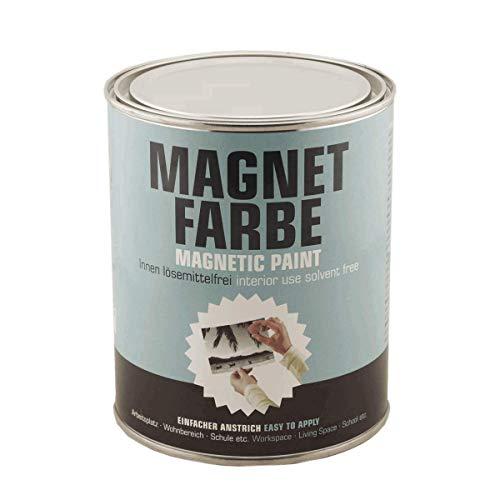 Milacor Magnetfarbe für Innen grau, 1 Liter