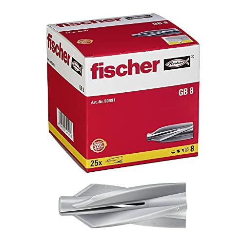 fischer - Cheville pour béton cellulaire GB 8 / boîte de 25