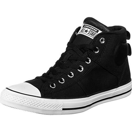 Converse Chucks CTAS SC MID 166969C Schwarz, Schuhgröße:44