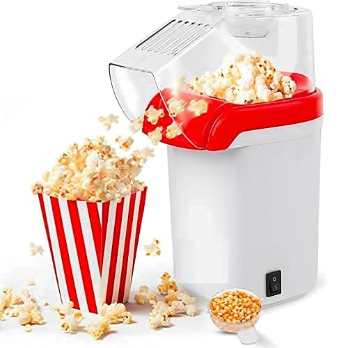 RGM STORE Popcorn Maker Machine for Home/ Minijoy Popcorn Maker/ 1200W Hot Air Popcorn Maker/ Popcorn Maker for Home/ Popcorn Maker For Delicious Popcorn At Home/ Electronic Popcorn Maker