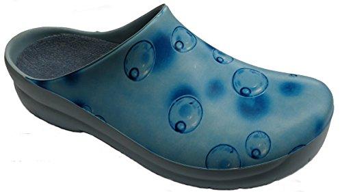 BIRKENSTOCK Jolly by Gartenclog Blubber Dream Blue Gr. 35-41 017030, Größe + Weite:37 normal, Farben:Blubber Dream Blue