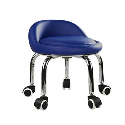 QFdd Le Salon Chambre Cuisine Chaise Haute Au Genou à roulettes, Ergonomique Banc De Pédicure Petit Chaises De Bureau 33 * 31cm