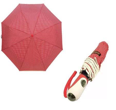 Sombrinha Guarda Chuva Automática Grande Resistente Sombrinha Feminino Com Capinha Para Bolsa Compacto Elegante