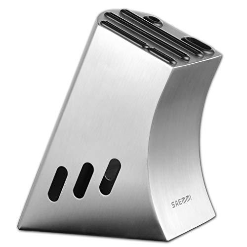LHY Conveniencia Estante for Cuchillos de Cocina Porta Cuchillos de Acero Inoxidable Grueso Suministros de Cuchillos de Cocina Simples Estante Estante for Cuchillos de Cocina Durable (Size : M)