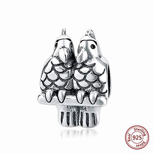 DASFF fit original Armband DIY Machen authentische 925 Sterling Silber perlen Frosch Tier Charme Frauen schmuck 05006