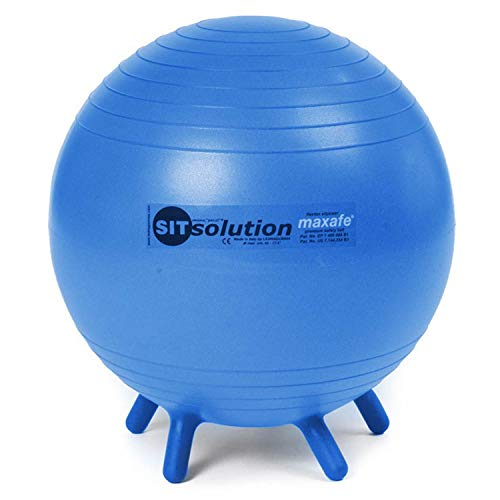 Original PEZZI Sitsolution Pezziball Gymnastik Therapie Ball MAXAFE 65 cm blau