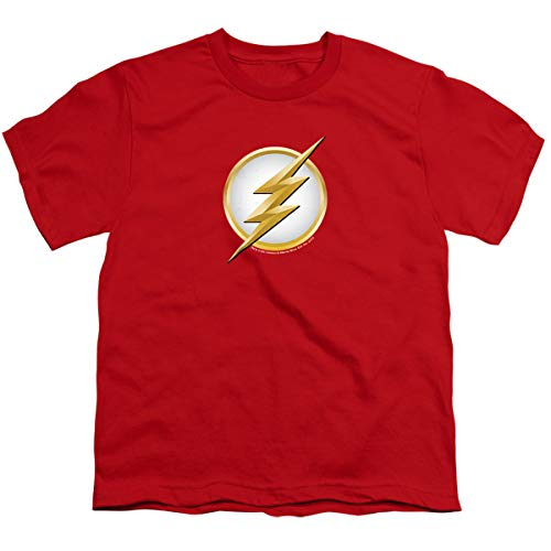 The Flash Season 2 Logo -- CW's The Flash TV Show Youth T-Shirt, Youth Large