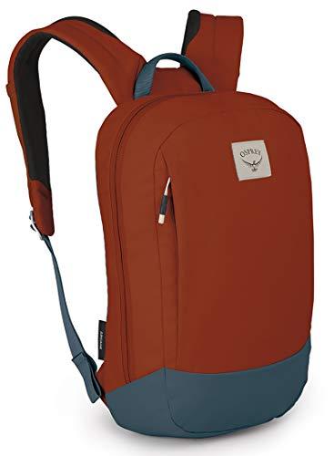 Osprey Arcane Small Laptop Backpack, Umber Orange/Stargazer blue, One Size