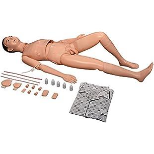 66fit Male Patient Care Manikin - Nurse Care Medical Training Aid:Ukcustomizer