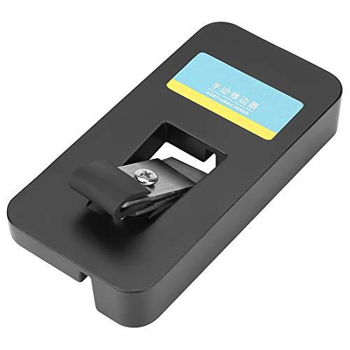 Outbit Recortadora Manual de Bordes - Ergonómico Dispositivo de Corte Manual para recortador Manual Sellado de Bandas de Borde Cortado para Trabajar la Madera