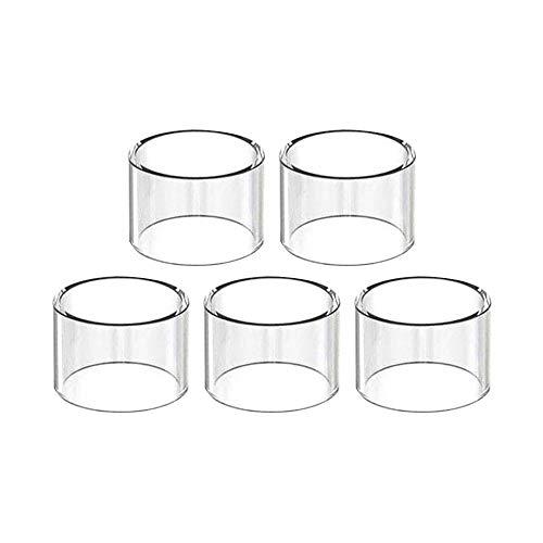 Eleaf Melo 4 D25 - Pack de 5 Pyrex de Remplacement - Tube en verre pour les clearomiseurs Melo 4 de 25mm de diamètre (5 Pyrex Melo 4 D25)
