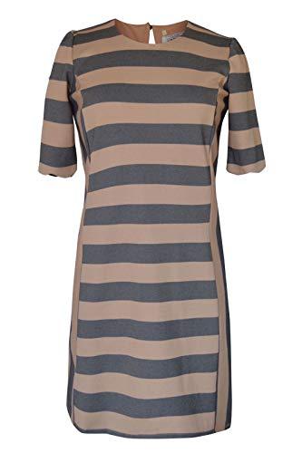 Oasis Damen Kleid beige * Einheitsgröße Gr. Large, Beige/Schwarz
