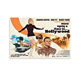 GHJH Once upon A Time in Hollywood 3 Wall Art Vintage