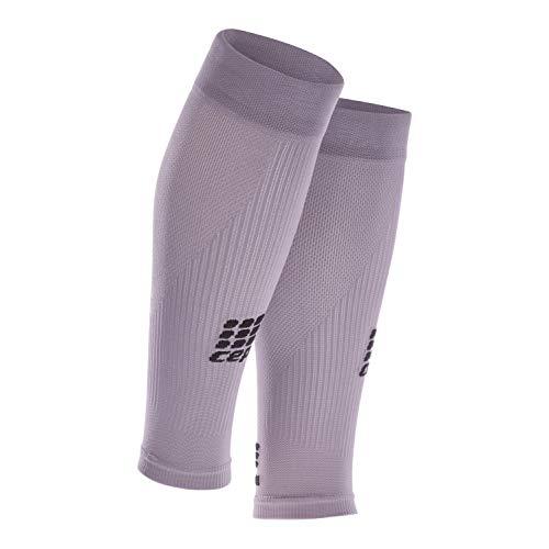 CEP – Compression Sleeves, Beinstulpen für Damen, lila, Größe III, Beinlinge für exakte Wadenkompression, Made by medi