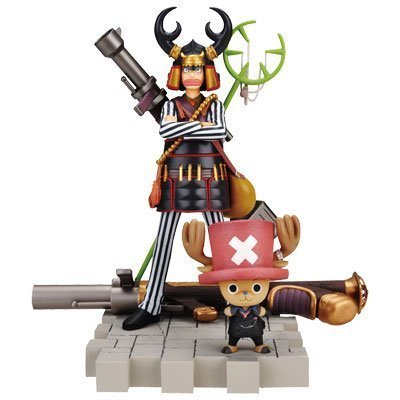 Lottery One Piece film Strong World ~ ~ best [C] prize Usopp & Chopper Figure (japan import)