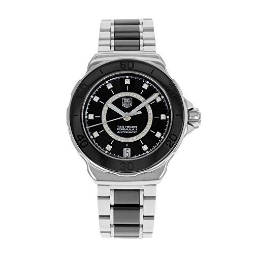TAG Heuer Formula 1WAU2210. BA0859de Acero y Negro cerámica Reloj de Pulsera automático