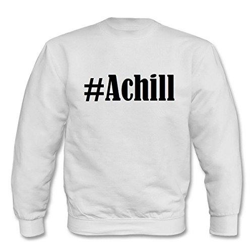 Reifen-Markt Sweatshirt #Achill Größe 2XL Farbe Weiss Druck Schwarz