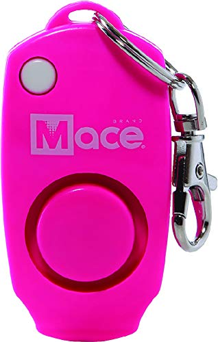 Why Should You Buy Mace Brand 130dB Personal Alarm Key Chain with Bag Clip, Backup Whistle, and Hidd...