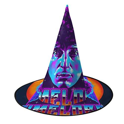 Sombrero de Halloween Timelord Cuarto Doctor Who Sombrero de Bruja Disfraz Unisex de Halloween para Fiestas de carnavales de Navidad de Halloween Fiesta