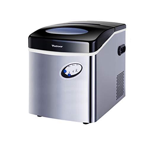 Ice Machine Draagbare Desktop Ice Maker, 6 Minuten Snelle IJs maken Stille Ontwerp, Intelligente Lcd Display Control, Geschikt voor Thuis, Koffie Winkel, Koude Drink Winkel, Zilver