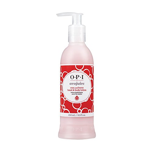 OPI Avojuice Hand & Body Lotion Cran & Berry, 250 ml