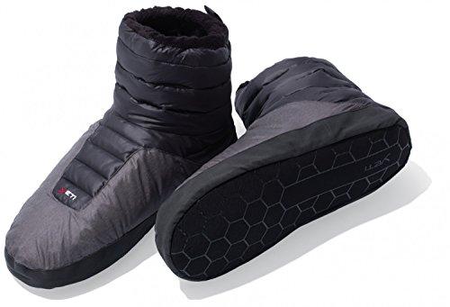 YETI Sundown down Boot - mollig warme Daunenstiefel, Farbe:schwarz, Größe:XS