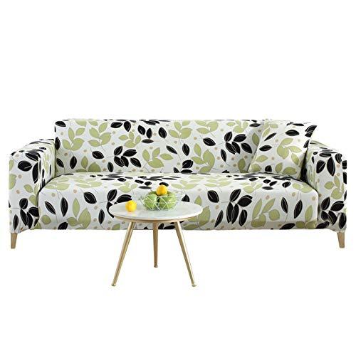 GHKT Tapa de sofá de Tela Spandex Pet Fleece Four Seasons Tela de Cuero Universal Todo Incluido Cubierta de sofá Impresa Universal Stro Sofa Funda para la mayoría de los Tipos de sofás