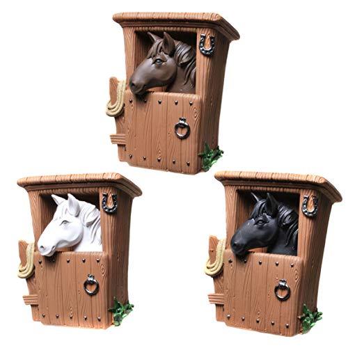 Topshop24you 1 x wunderchöne Spardose,Sparbüchse,Sparschwein Pferd im Stall