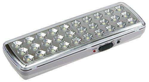 LED Notleuchte Orientierungslicht mit Ladeanzeige 3 Helligkeitstufen Akku 2W Notbeleuchtung