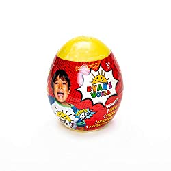 Kids can be just like Ryan when they unbox their Ryan's World Mystery Mini Egg This Mini Mystery Egg reveals capsules with lots of surprises to find inside No two eggs are the same Perfect gift for any Ryan's World fan For ages 3+