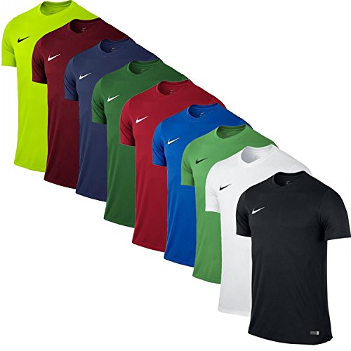 Nike Park VI Camiseta de Manga Corta para hombre, Rojo (Team Rojo/Blanco), XL