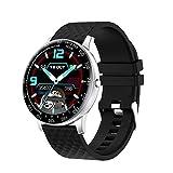 Relógio Inteligente Smartwatch Redondo para Feminino e Masculino Com OxíMetro, Suportes Android e Ios