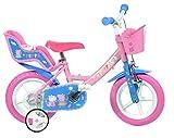 Dino Bikes 124RL-PIG Peppa Pig Alla ricerca di Dory, Bicicletta per bambini, Rosa