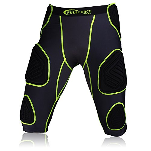 Full Force Football Unterhose Shocc Lite 7 Pad, bk/kg, M