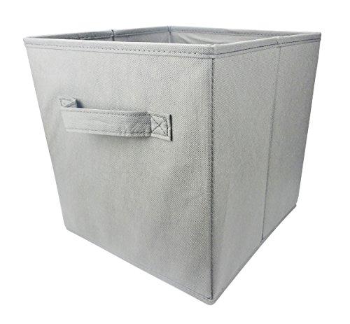 Lanscoe Opbergmand Bin Opvouwbare Stof Closet Organizer Plank Kast Boekenkast Box Inklapbare Opslagruimte Kubus voor Kwekerij Huis en Kantoor