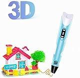 Penna 3D, penna per stampa 3D, con controllo della temperatura, penna 3D Doodler Pen...