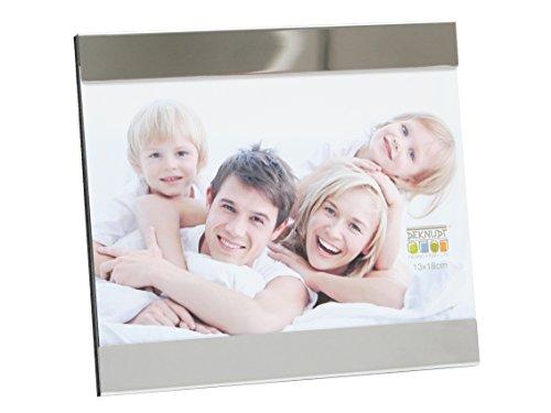 Deknudt Frames S67AF2 10 x 15 Cornice Grigio Argento Metallo