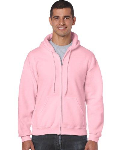 Gildan - Sweat-shirt à capuche - Homme rose rose clair Small