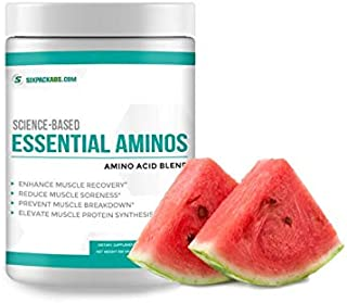 Science Based BCAA Powder - Essential Amino Acids Protein Powder - Post Workout Recovery Drink - Branched Chain Amino Acid...
