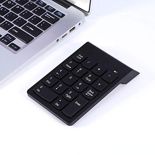 Teclado numérico inalámbrico Bluetooth - Teclado numérico inalámbrico Bluetooth Teclado numérico 18 Teclas Teclado Digital para computadora portátil Reposo automático