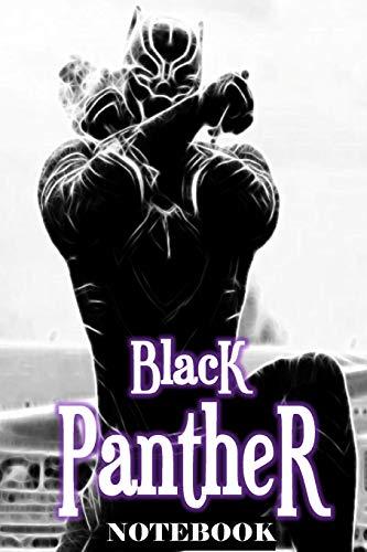 "Black Panther: Wakanda Forever; Notebook Journal 6"" x 9"""