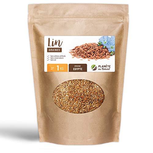Graine de Lin - 1 kg - Sachet