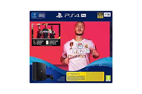 Console Playstation 4 Ps4 Sony 1 To + Jeu Fifa 20