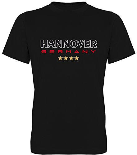 Hannover Germany **** Fan-T-Shirt Unisex Herren 078.018 (XL)