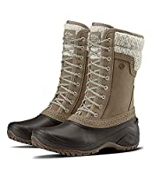 The North Face Women's Shellista II Mid - Split Rock Brown & Dove Grey - 8