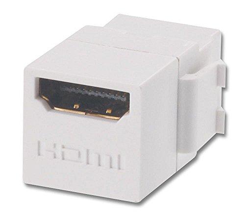 HDMI Doppelkupplungs-Keystone für Wanddosen